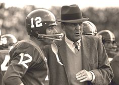 Coach Bryant and Joe Namath - A great combination