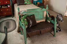 little buckaroo bedroom bench 1