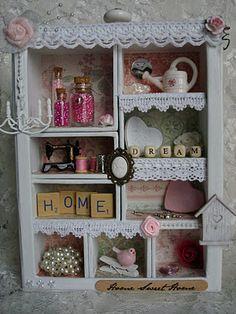 linde's hobbyblogje: Romantisch kastje