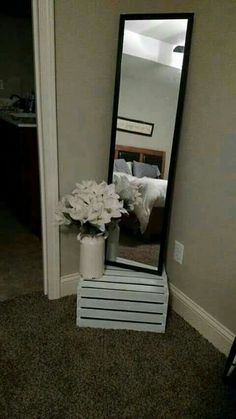 Cute and simple way to add style to any room!
