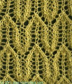 Arrow - Knittingfool Stitch Detail