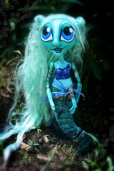 Meliora - Mermaid of Love and Light - OOAK Art Doll