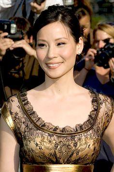 The beautiful Lucy Liu