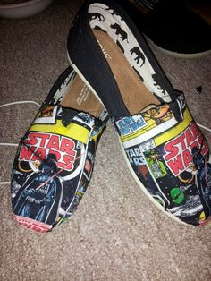 My star wars shoes