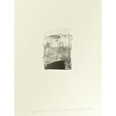 Hideaki Yamanobe  Fragmente 2015-6, 2015  Papier-Collage und Acryl auf Papier, 29 x 22,5 cm