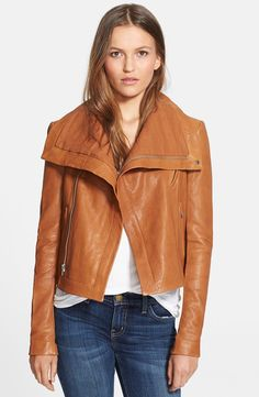 Classic Leather Jacket - @nordstrom #nordstrom