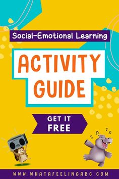 Are you looking to make storytime more interactive with your child or student? Get your free copy of the Social-Emotional Learning Activity Guide! It is full of games, activities, exercises, and conversation starters to enhance your child's social-emotional wellness. Check it out! #parenting #SEL #socialemotionallearning #teachers #schoolcounselors Social Emotional Development, Social Emotional Learning, Social Skills, Educational Activities For Toddlers, Learning Activities, Elementary School Counseling, Conscious Parenting, Counseling Activities, Emotional Regulation