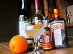 The 'In Cold Blood' Orange Blossom Cocktail