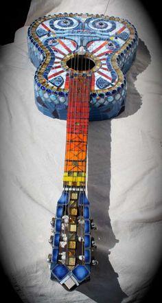 guitar mosaic - Google Search