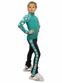 IceDress Figure Skating Outfit Snowflake Mint CXL -- To view further for this item, visit the image link. (This is an affiliate link) Figure Skating Store, Figure Skating Outfits, Dress Outfits, Girl Outfits, Fashion Outfits, Ice Dresses, Girls Football Boots, Skateboard Girl, Skate Wear