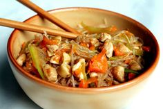 kuracie sote Japchae, Food And Drink, Ethnic Recipes, Diet, Vegan Bolognese, Napa Cabbage