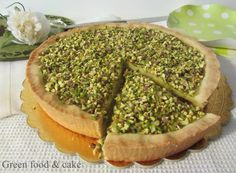 CROSTATA AI PISTACCHI http://blog.giallozafferano.it/greenfoodandcake/crostata-pistacchi/