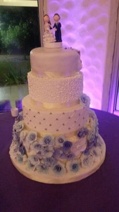 Grooms cake, delicious cake with nuts