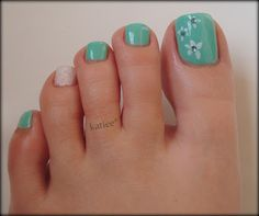 Summer Manicure & Pedicure
