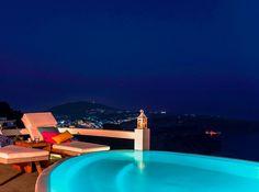 Photo Shooting at Aqua Luxury Suites Santorini