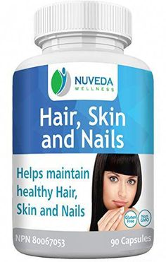 femMED Hair, Skin & Nails Supplement | Maintain Healthy Skin, Hair & Nails Vegetable Capsules | Repairs Brittle Nails Vitamins (60 Count): Amazon.ca: Health & Personal Care #ArganOilForHairLoss