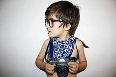 cute little photographer