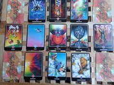 Een uitgebreid Osho Zen Tarot patroon van 20 kaarten