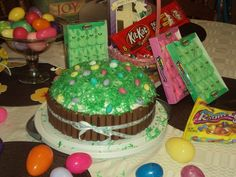 Easter Cake, idea from Gypsy's Melting Pot Page