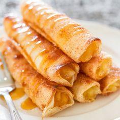 Apple Pie Taquitos - Jo Cooks