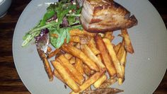 Pork Belly and Fries. Troquet.