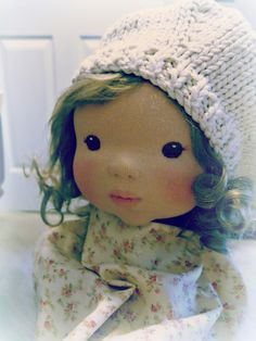 "Breslyn 14"" sculpted waldorf doll."