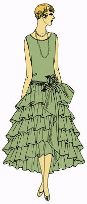Making History: 1920s London debutante dress - Historic Sew Fortnightly