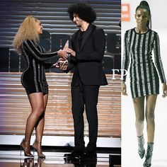 ?!!! #Beyonce en petite robe #LaquanSmith lors de la cérémonie Sports Illustrated afin de remettre un prix au joueur Colin Kaepernick. Ça le fait ou pas ?  #Beyonce in a @laquan_smith dress made a surprise appearance at the #SportsIllustrated Person Of the Year awards to present #ColinKaepernick with the #MuhammadAli Legacy Award - Celebrity #Fashion Style Culture Couture Advertising Culture #Beauty Editorial #Photography Magazines Supermodels Runway Models