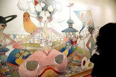"Aya Takano ""Reintegrating Worlds"" Skarstedt Aya Takano, Takashi Murakami, Anime Japan, Arts And Entertainment, Pop Art, Entertaining, World, Creative, Artist"