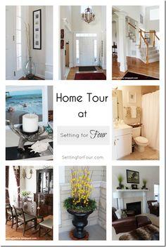 Home Tour  www.settingforfour.com