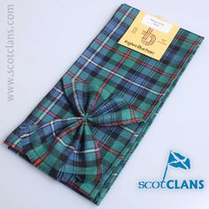 Robertson Hunting Ancient Tartan Mini Sash from ScotClans