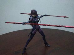 Scathach battle pose by chugimeister on DeviantArt
