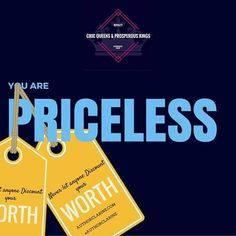 Never let anyone Discount Your Worth. YOU ARE PRICELESS! #AuthorClarine