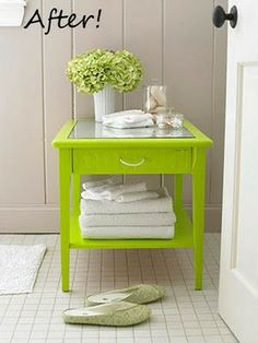 Style Me Green: ECO OBBSESSION: PAINTED NEON