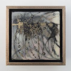 AVAILABLE!  Original Encaustic Mixed Medial Painting by Katie C. Gutierrez:  Regeneration No. 14