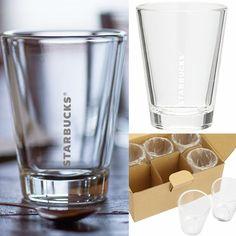 [ Pre-Order ] Starbucks Transparent glass 星巴克透明玻璃杯(一套6個) via Hoebuy. Click on the image to see more!