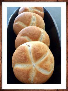 👑 Kaiser-Semmel 👑 Bread Dough Recipe, Best Bread Recipe, Bread Recipes, Cooking Recipes, Bread And Pastries, Some Recipe, Bread Rolls, Croissants, Pretty Cakes
