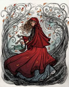 red riding hood art - Google Search