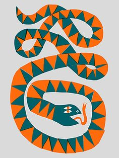 Marcus Oakley Thumb Up Art Print Art And Illustration, Illustrations And Posters, Snake Art, Plakat Design, Arte Tribal, Psy Art, Arte Popular, Art Graphique, Grafik Design