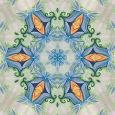 Unfolding Nature by Ana Mendina #artprints Mandala, Art Prints, Gallery, Drawings, Nature, Artwork, Painting, Dibujo, Pintura