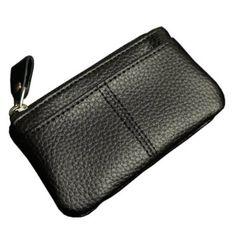 Amazon.co.jp: シンプルでベーシックなフロントポケット付小銭入れ|コインケース・パスケース・ファスナー・ジッパー・定期入れ・カードケース・メンズ・ビジネス・小物: シューズ&バッグ
