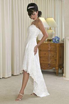 hi low wedding dresses