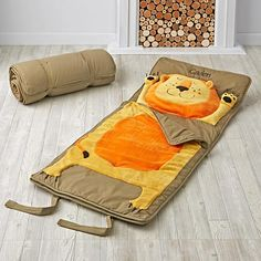 How Do You Zoo Sleeping Bag (Lion)  | The Land of Nod