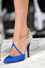 Resultado de imagem para royal blue wedding shoes