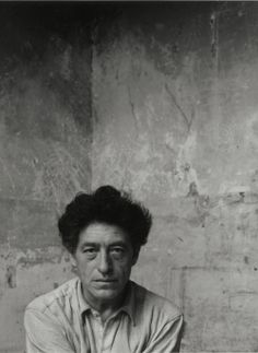 Arnold Newman :: Portrait of Alberto Giacometti in his Atelier, Paris, 1954 more [+] by this photographer more [+] posts about Giacometti