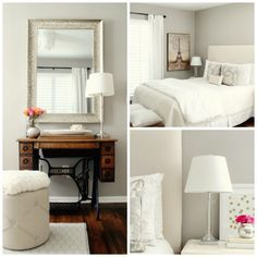 Sherwin Williams : AMAZING GRAY The 10 Best Gray and Greige Paint Colours - Kylie M Interiors