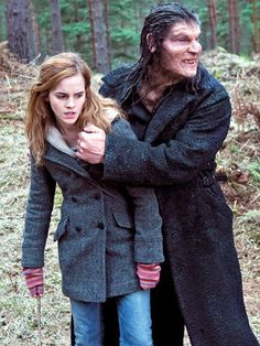 Hermione captured by Fenrir Greyback (Harry Potter and the Deathly Hallows Part 1)