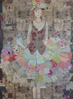 The Dress Collage Kit by Laura Heine
