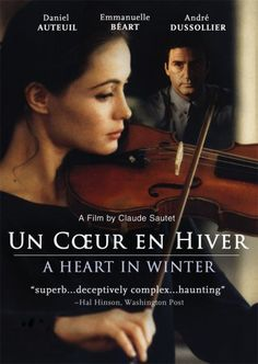 Rent Un Coeur en Hiver starring Daniel Auteuil and Emmanuelle Béart on DVD and Blu-ray. Get unlimited DVD Movies & TV Shows delivered to your door with no late fees, ever. Films Cinema, Cinema Posters, Movie Posters, Movies And Series, Movies And Tv Shows, Great Films, Good Movies, Beau Film, Emmanuelle Béart