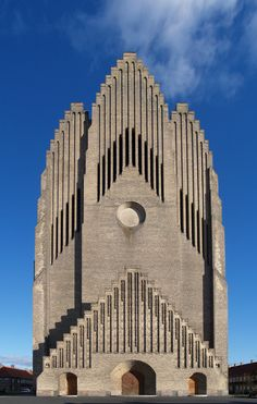 Grundtvig's Church (Danish: Grundtvigs Kirke) is located in the Bispebjerg district of Copenhagen, Denmark. It is a rare example of expressionist church architecture. Due to its unusual appearance, it is one of the best known churches in the city. Sacred Architecture, Church Architecture, Religious Architecture, Unique Architecture, Historic Architecture, Architecture Photo, Les Religions, Cathedral Church, Gothic Cathedral